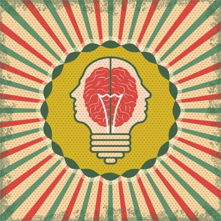 the concept of brain idea for business Stock Vector - 22101298