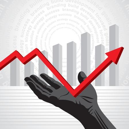 overcome: Overcome the Crisis vector