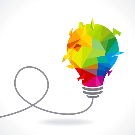bereiken idee, een mens denkt Stock Illustratie