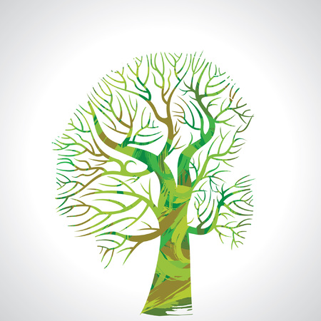 colorful tree: colorful tree vector