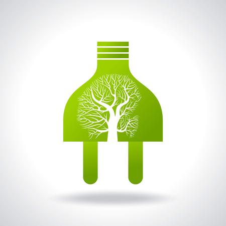 power plug: green power idea