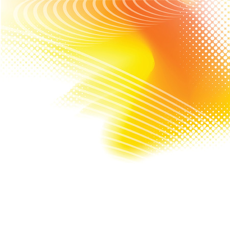 Colorful smooth light lines background Vector
