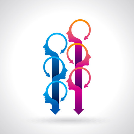 Vector Icon Graphic Teamwork concept