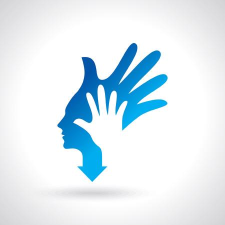 welfare: human care icon