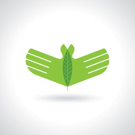 greenpeace: eco care vector
