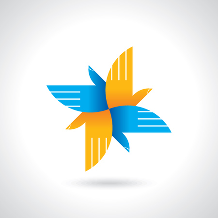 charity  symbol: teamwork symbol design