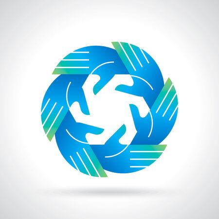 fun at work: teamwork symbol design