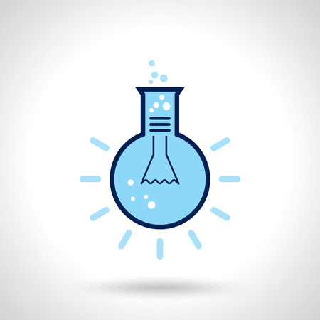 concept design: Science concept design template Illustration