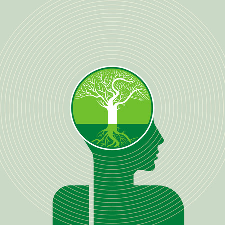 save the environment: save environment concept vector