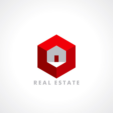 concept icon design template for Real estate Vector