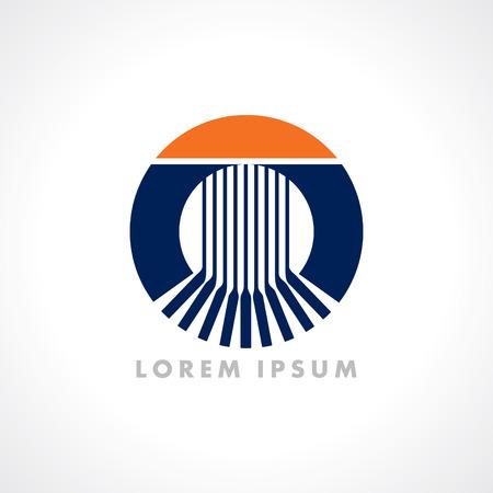 mobius symbol: Design Elements vector Illustration