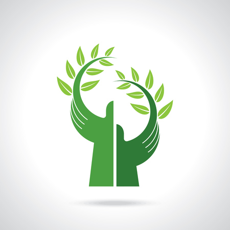環境への配慮のベクトル  イラスト・ベクター素材