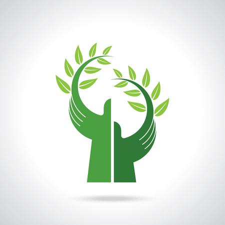 milieuzorg vector