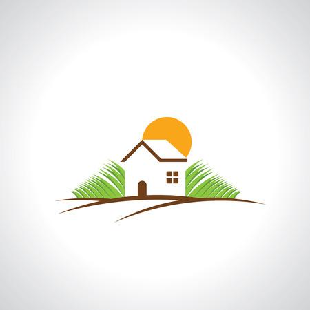 arbol de problemas: icono de las propiedades inmobiliarias