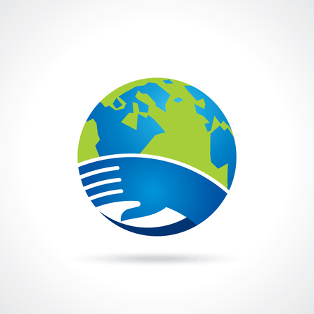 save the environment: save environment - creative vector Illustration