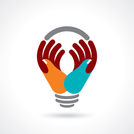 give and take: reach idea with human hand