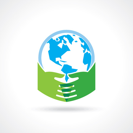 save the earth: save earth concept