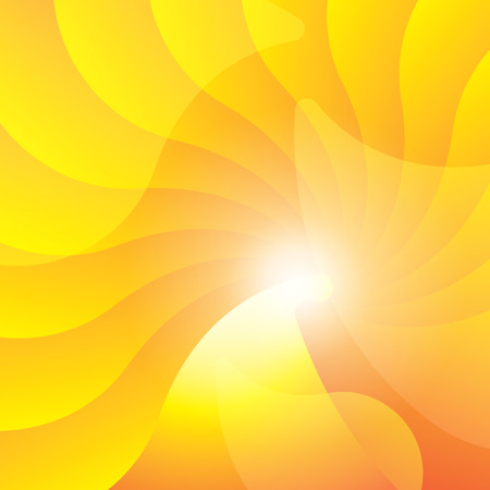 Colorful smooth light lines background. Vector illustration, contains transparencies.
