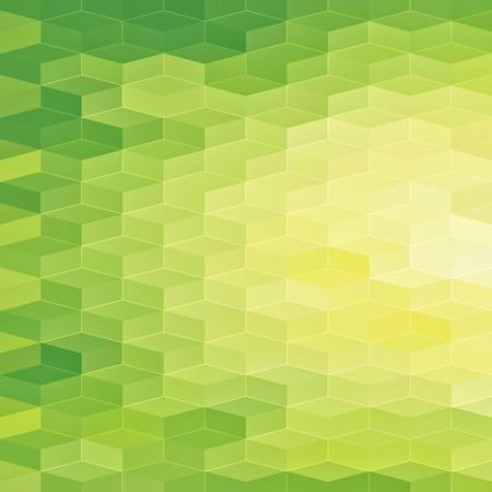 抽象的な緑色の光背景  イラスト・ベクター素材