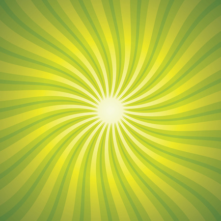 enjoy space: Green Background With Beams Illustration