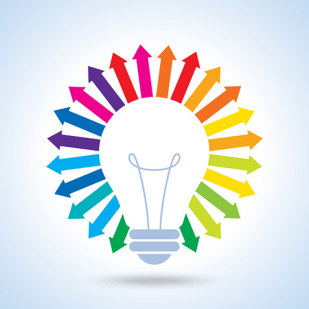 innovating a new idea vector