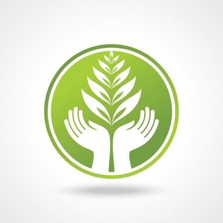greenpeace: eco care symbol
