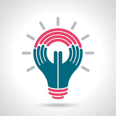 problem solution: reach idea with human hand