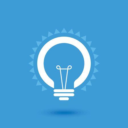 advance: Creative idea in bulb shape as inspiration concept