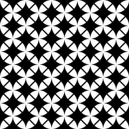 mid century modern: abstract vintage geometric wallpaper pattern seamless background Illustration