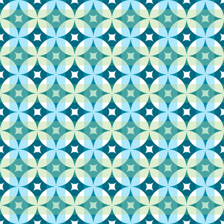 abstract vintage geometric wallpaper pattern seamless background Illustration