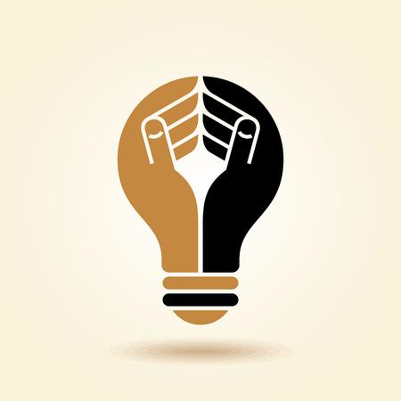 new thinking: human head thinking a new idea