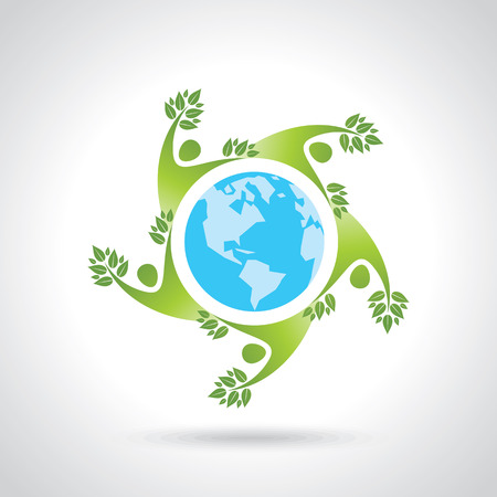 trinity: People surround Earth