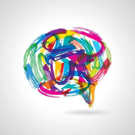 creatieve kleurrijke tekstballonnen