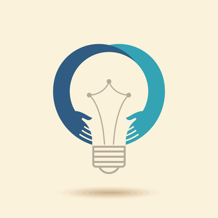 solution icon: Save energy concept