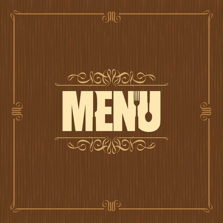 Restaurant menu design - Illustration Illustration