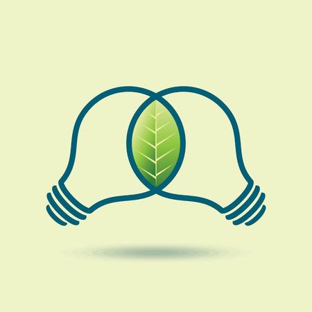 eco energy: eco energy design vector illustration