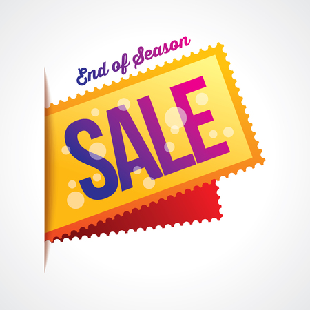 promotion: sale shopping background and label for business promotion