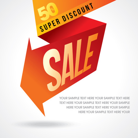 sale off: sale shopping background and label for business promotion