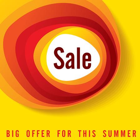 etiquetas de ropa: Fondo de la venta de compras y una etiqueta para la promoción de negocios Vectores