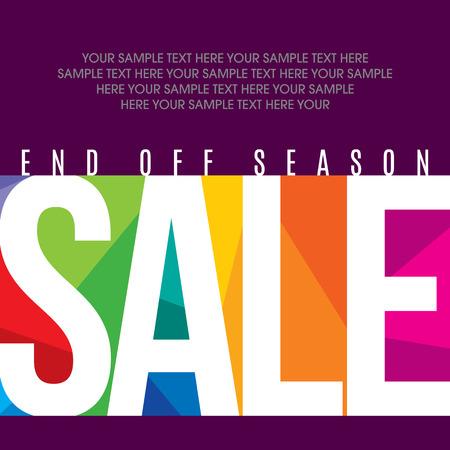Verkauf Einkaufs Hintergrund und Label für Wirtschaftsförderung
