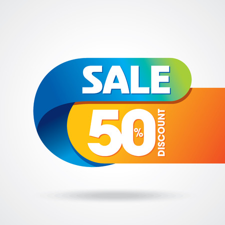 product background: sale shopping background and label for business promotion
