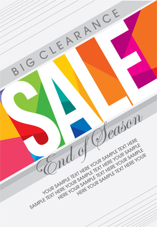 christmas promotion: sale shopping background and label for business promotion