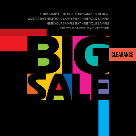 shopping sale: sale shopping background and label for business promotion