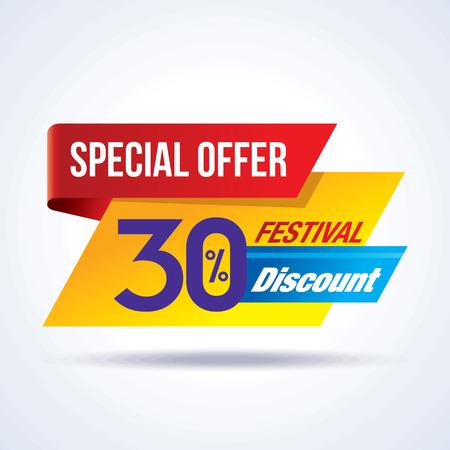 Verkauf Einkaufs Hintergrund und Label für Wirtschaftsförderung Lizenzfreie Bilder - 39943778