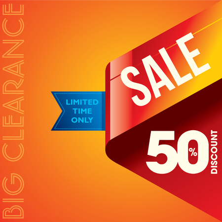 special sale: sale shopping background and label for business promotion