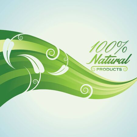 natural arch: Green Abstract Background