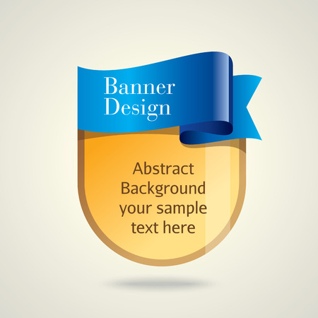 BANNER DESIGN: Colorful promotional banner design vector illustration