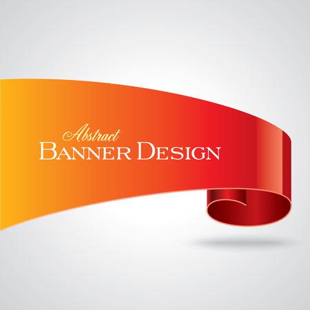 the corner: Colorful promotional banner design vector illustration