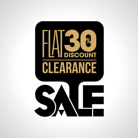Sale shopping background and label for business promotion 일러스트
