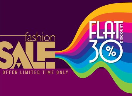 ropa de verano: Fondo de la venta de compras y una etiqueta para la promoción de negocios Vectores